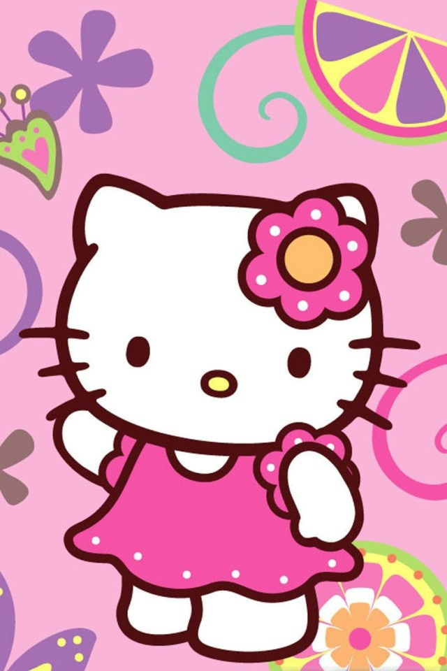 iPhone Wallpaper Hello Kitty - WallpaperSafari