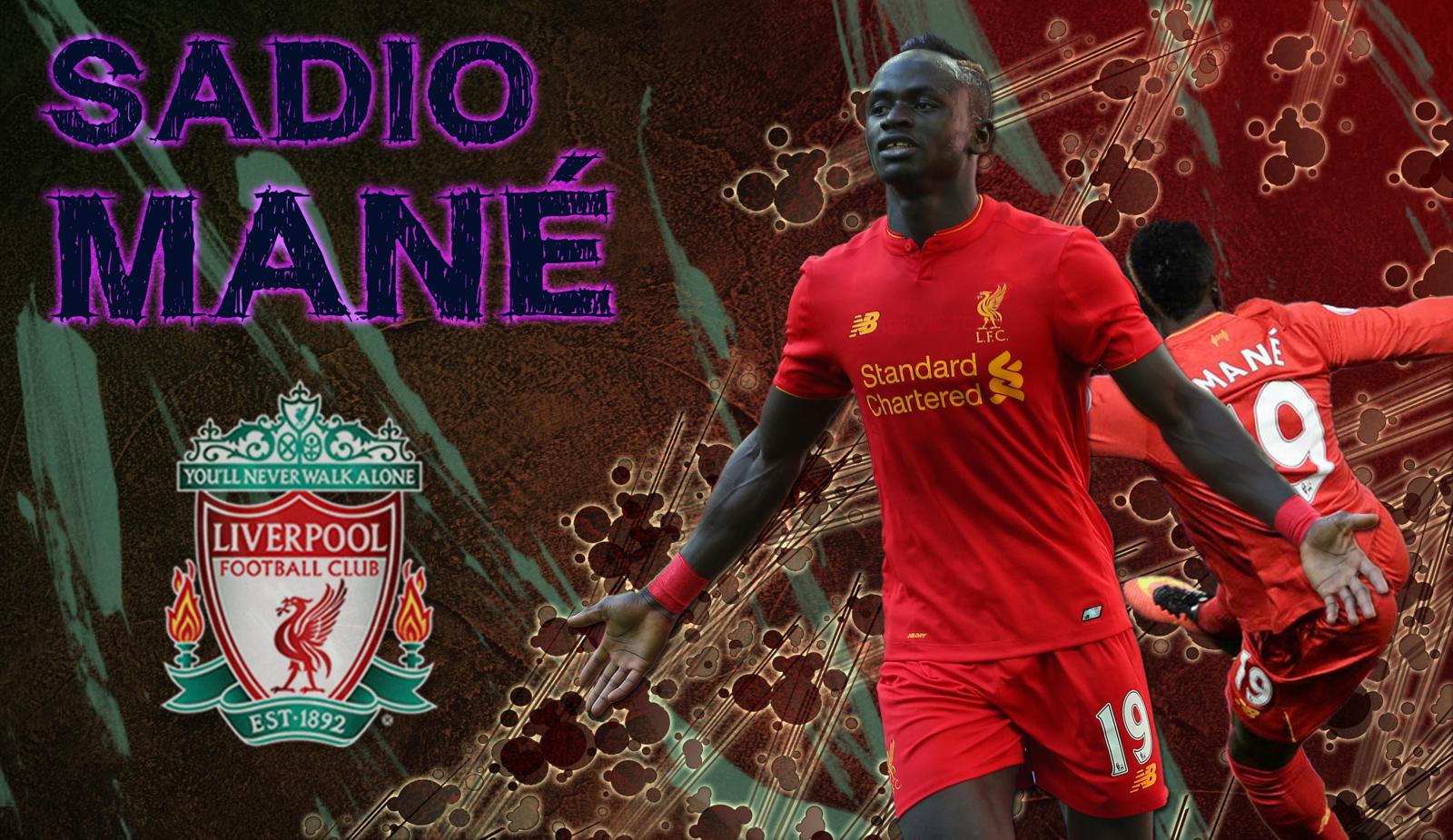 Sadio Mane   Liverpool FC   Wallpaper by Leonel350 on 1600x925