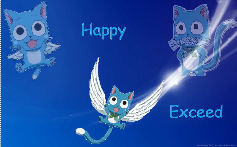 Fairy Tail Wallpaper Happy by XxDGray ManxX 961x597