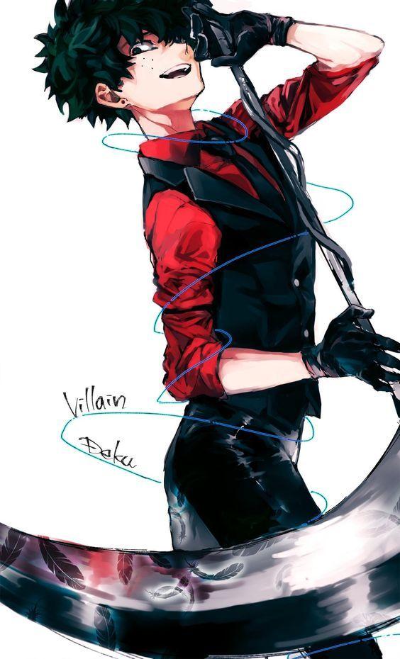 Villain Izuku Midoriya Wallpaper Villain deku Hero ve Boku no 564x930