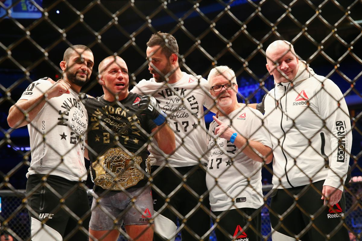 Georges St Pierre Vacates His Middleweight Title   MMAmaniacom 1200x800