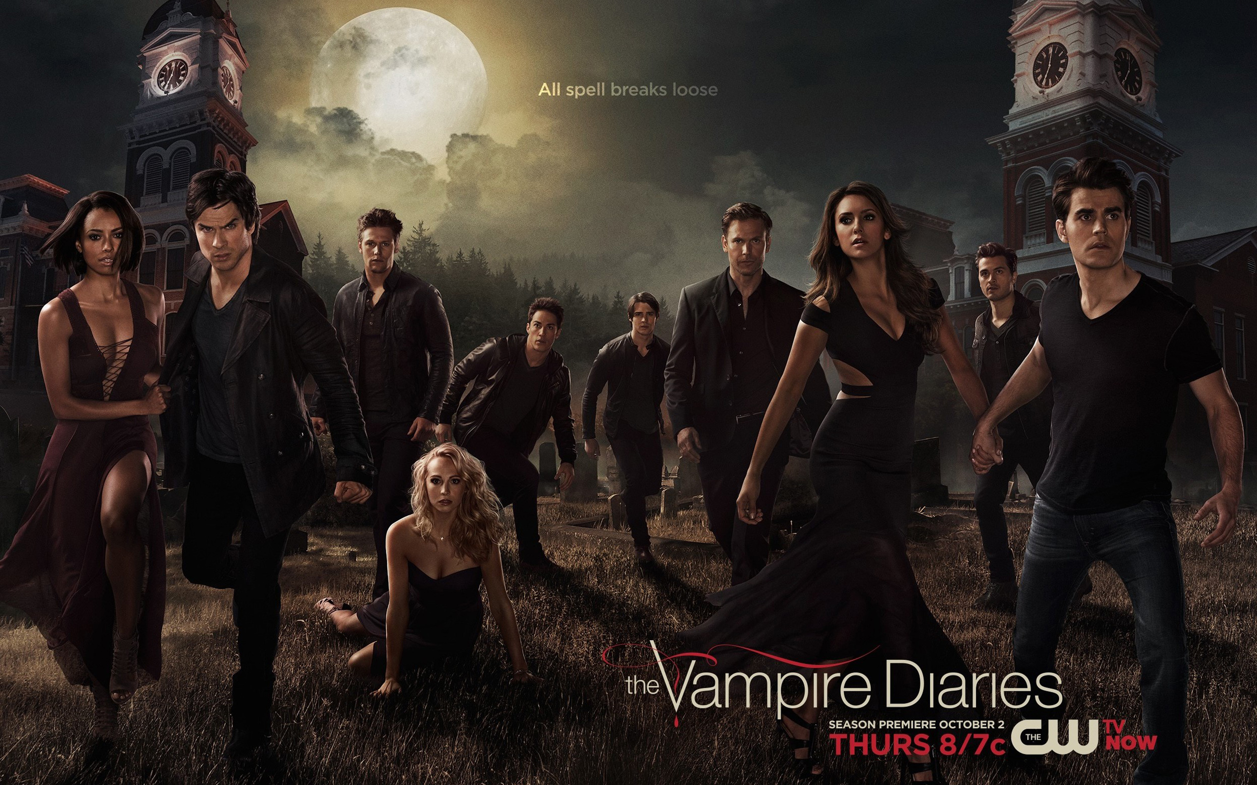 The Vampire Diaries Wallpaper - #20041314 (1920x1080) | Desktop ...