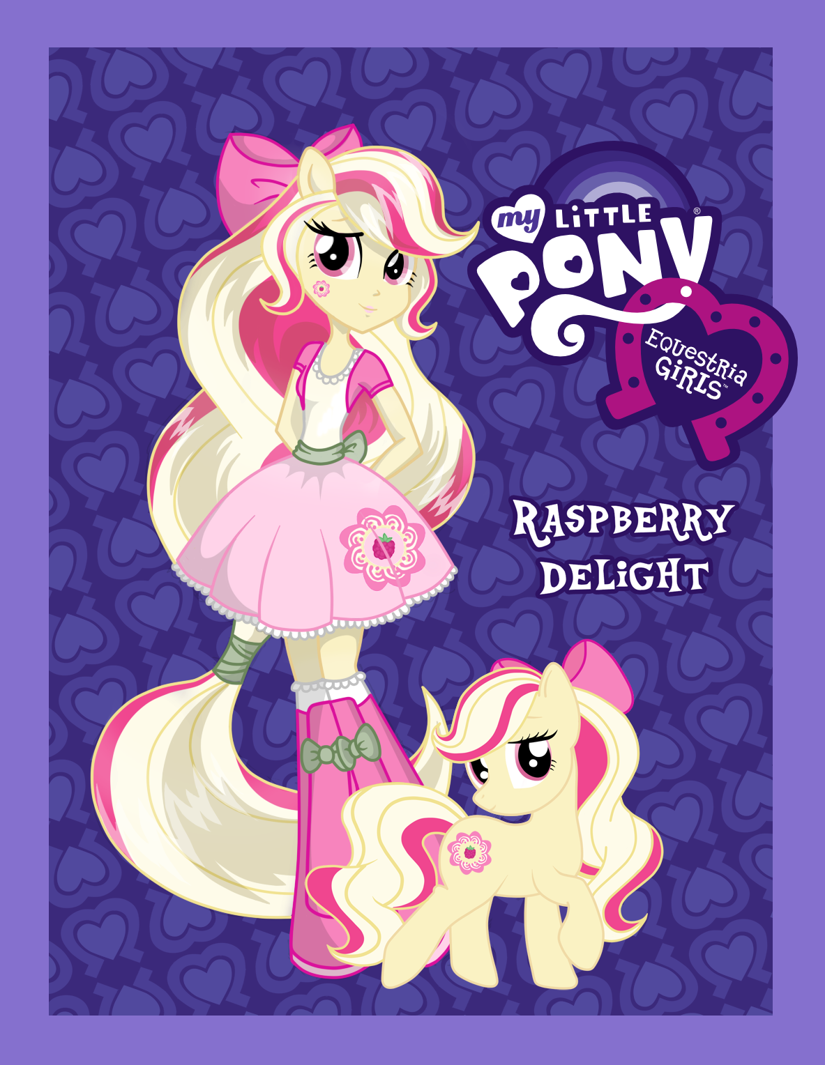 Free Download Equestria Girls Oc Raspberry Delight By