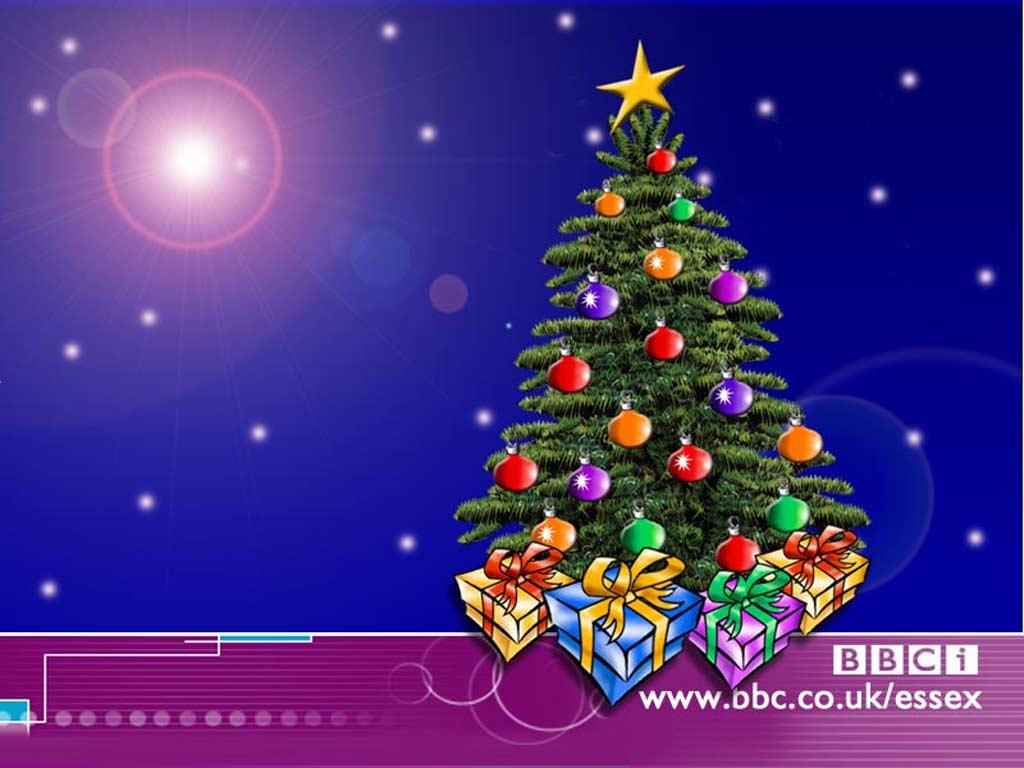 wallpaper green christmas tree desktop funylool   Quotekocom 1024x768