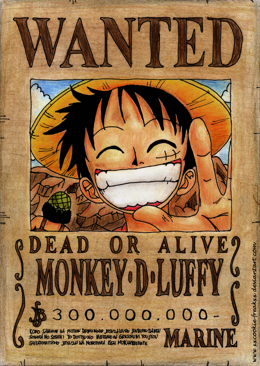 Wanted dead or alive - franky by joeoiii