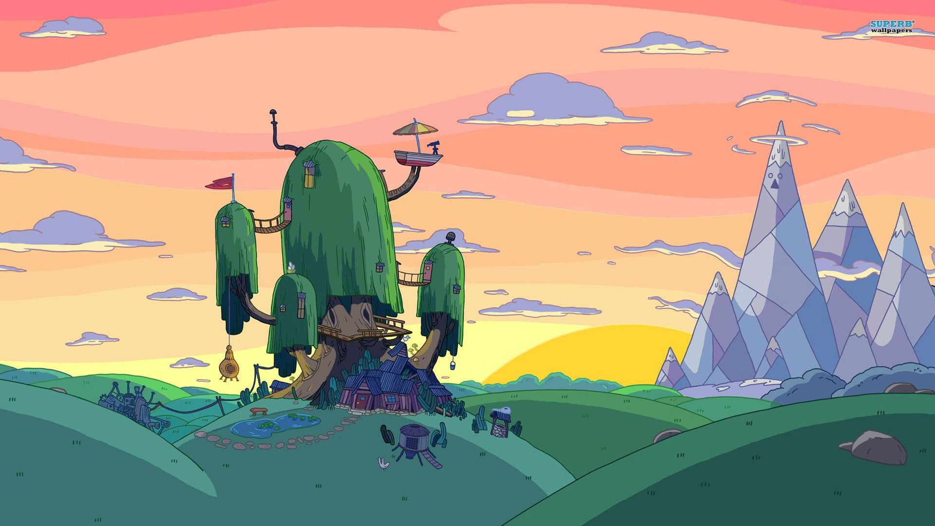 Adventure Time Environment Art Adventure time wallpaper 1920x1080