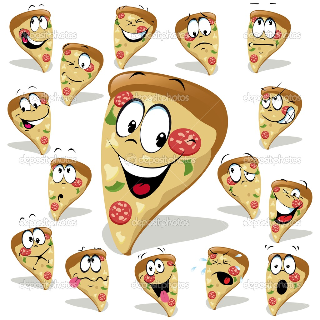 Cute Cartoon Food Wallpapers Cartoon pizza pictures 13439 1024x1024