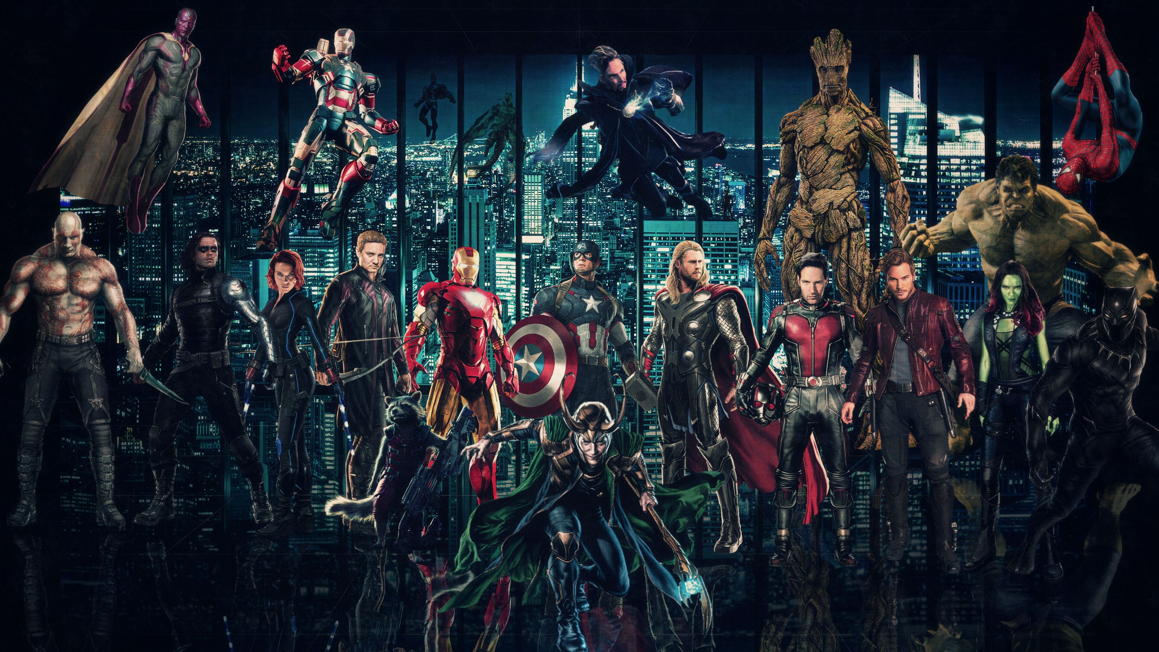 Marvel Cinematic Universe Wallpaper by http 3840x2160