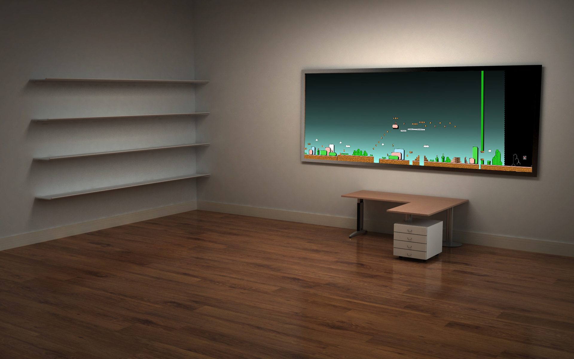 Fantastic Best Office Desktop Wallpaper Wallpapersafari Largest Home Design Picture Inspirations Pitcheantrous