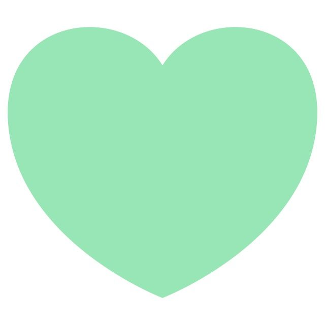 Mint green heart wallpaper Iphone wallpaper Pinterest 640x640