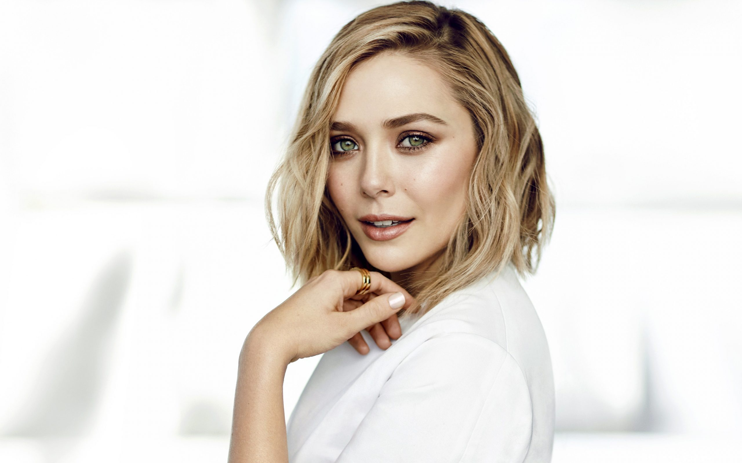 Elizabeth Olsen Wallpaper 4K HD Wallpaper Background 2560x1600