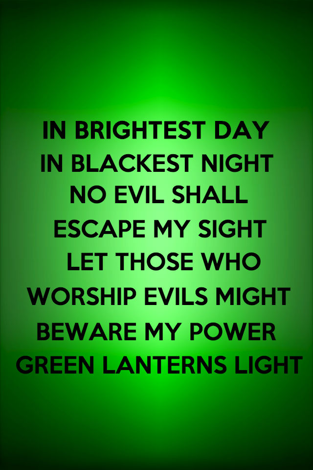 Green Lantern Oath Wallpaper - WallpaperSafari
