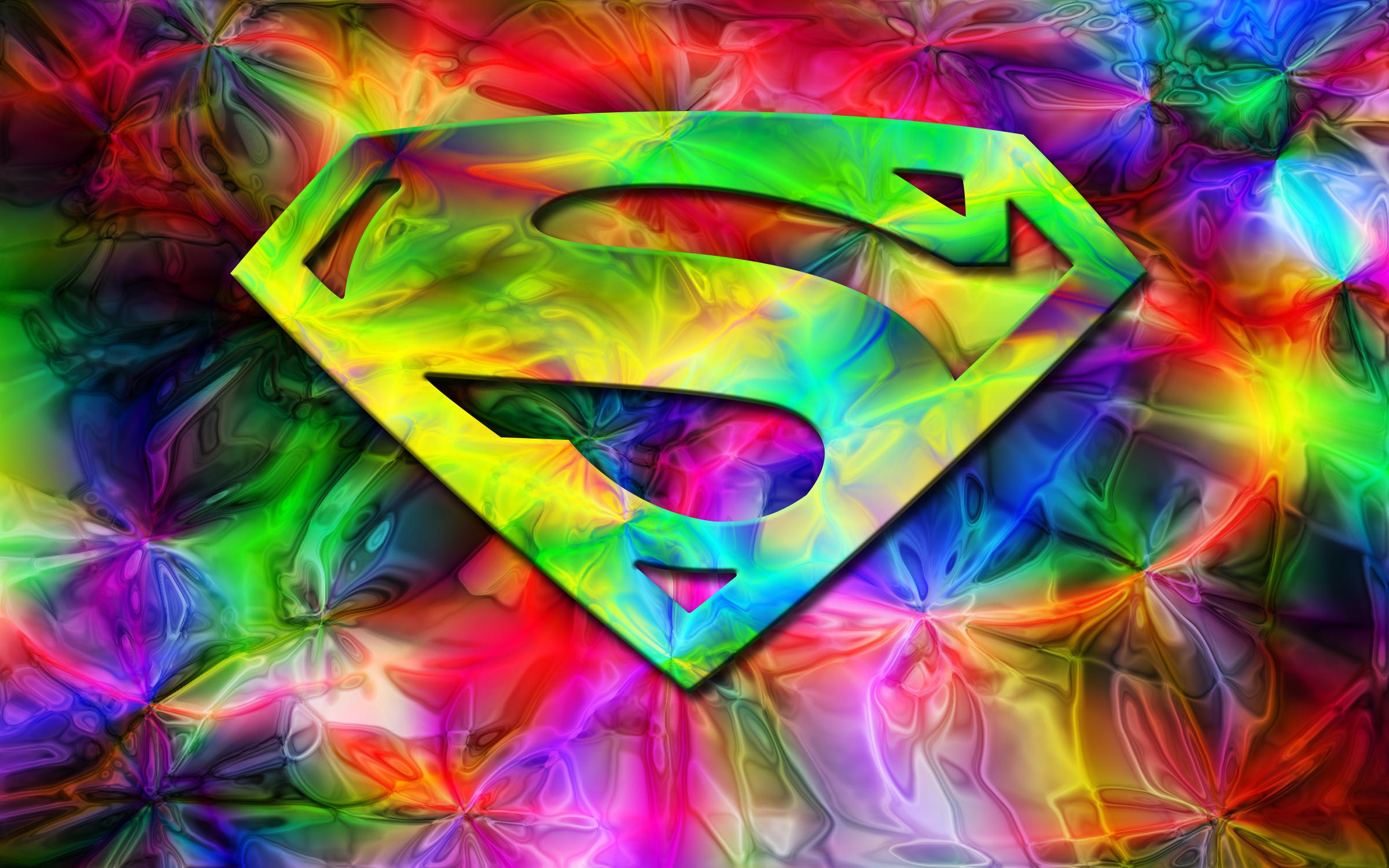 Superman in Color Widescreen by the big al 2400x1500