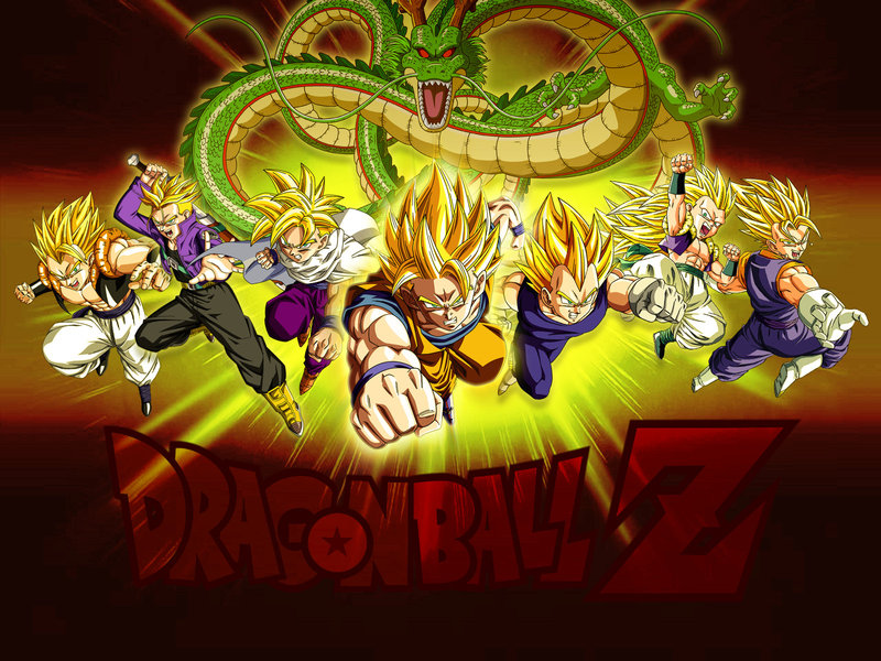 Wallpaper Dragon Ball Z Super Saiyans by Dony910 800x600