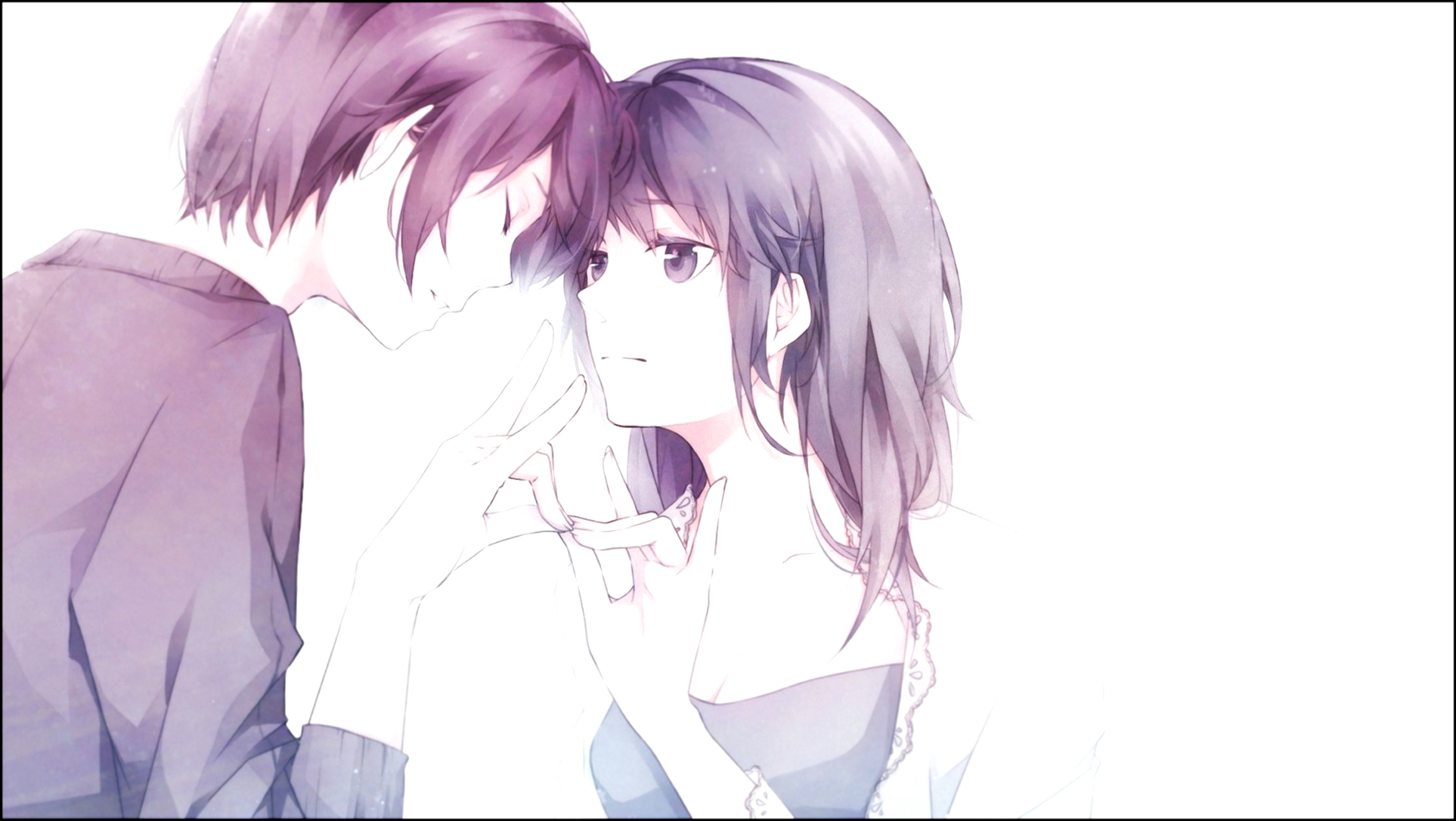 Download Cute Anime Couple Backgrounds 1926x1086