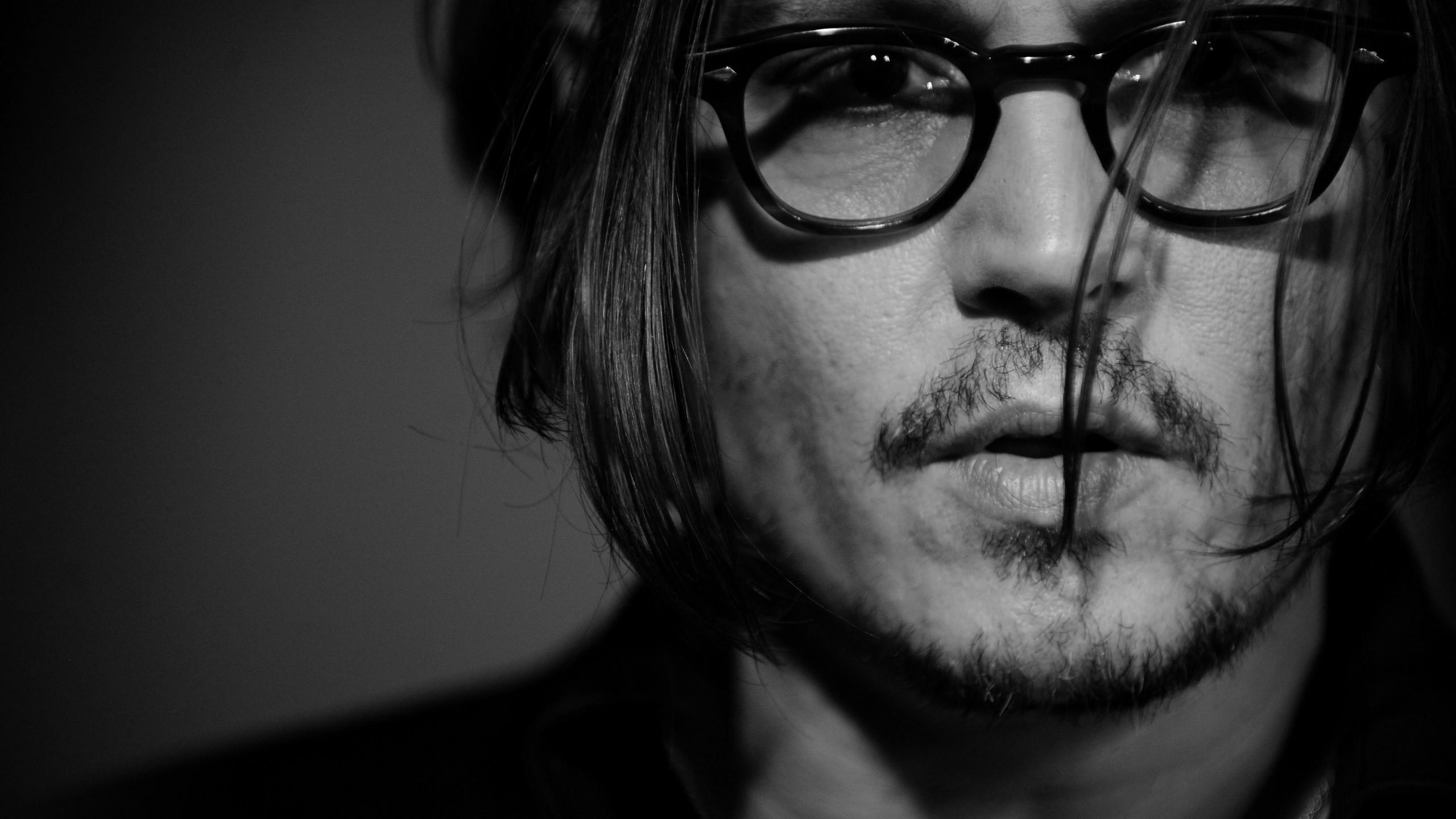 Wallpaper Johnny Depp director musician screenwriter producer 2560x1440