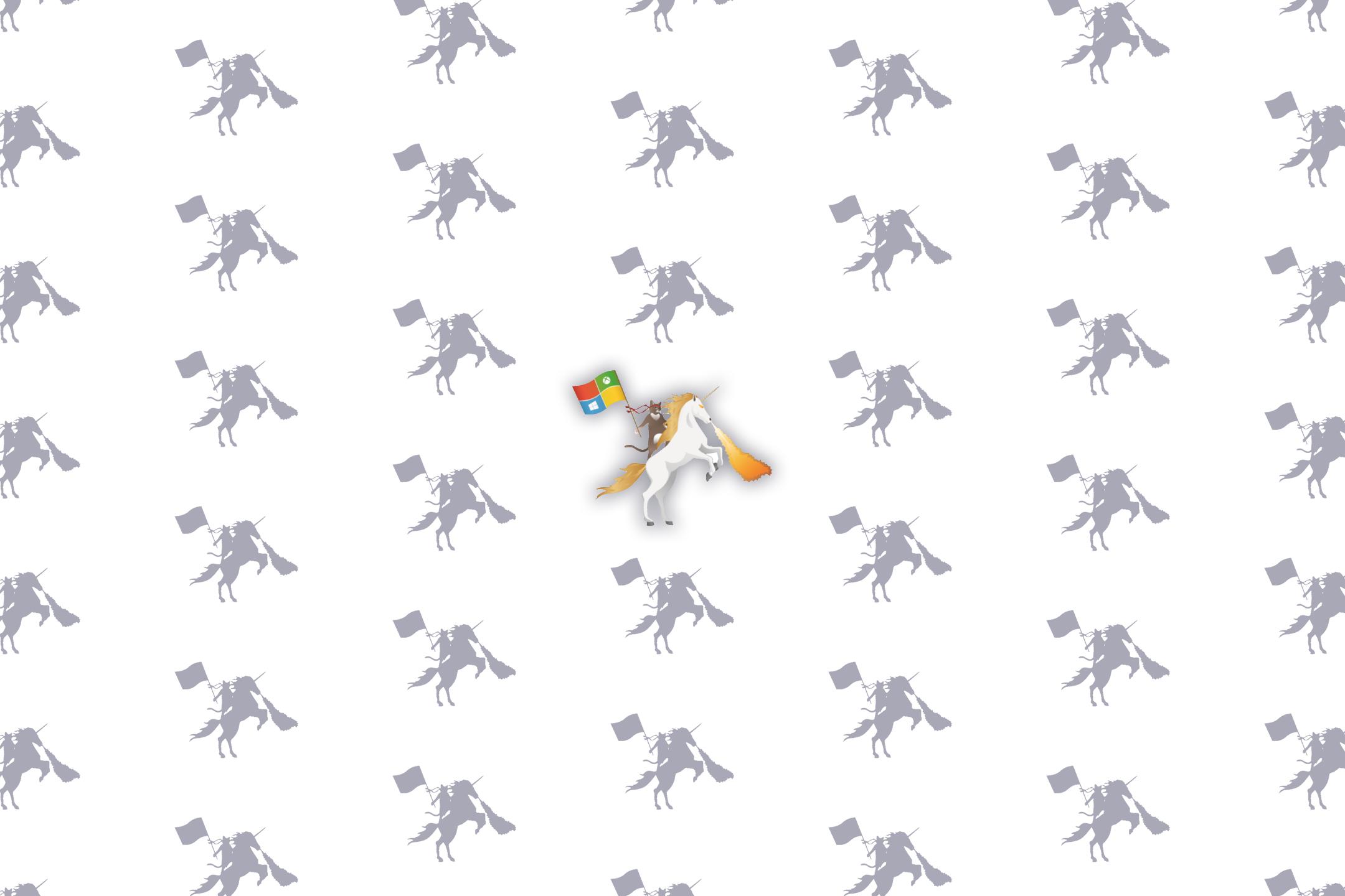 Ninja Cat riding a Unicorn Wallpapers by MichaelGillett   Piptell 2160x1440