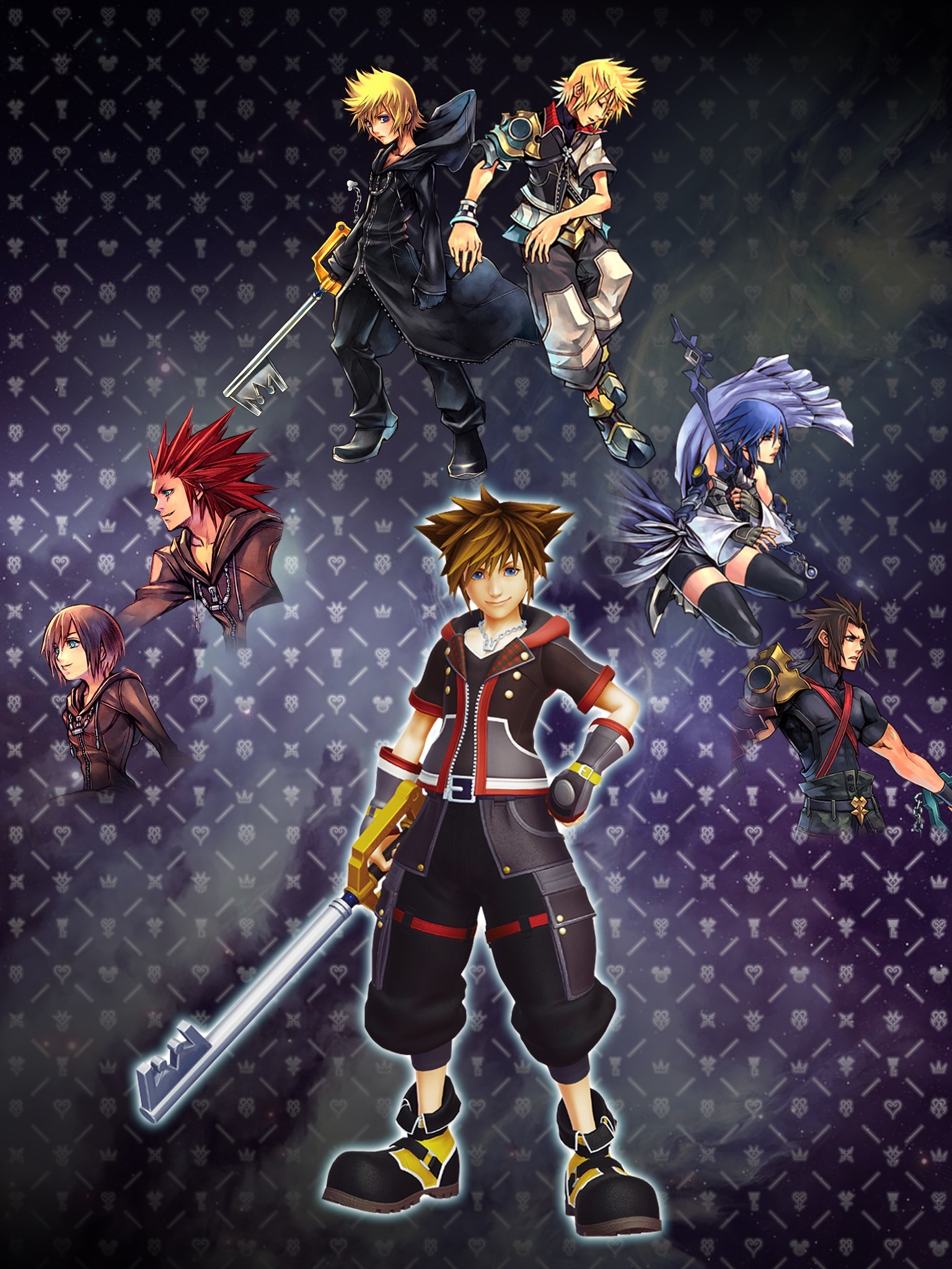 Kingdom Hearts Iphone Wallpaper Best Images Collections 1536x2048
