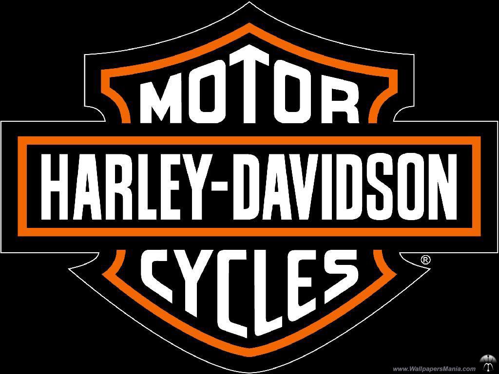 Harley Davidson Logo Wallpaper - 102.5KB