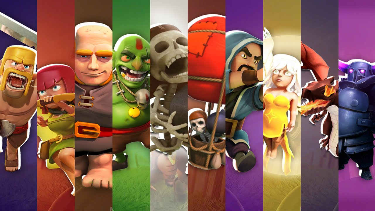 Wonderful Clash of Clans Wallpaper Full HD Pictures 1280x720