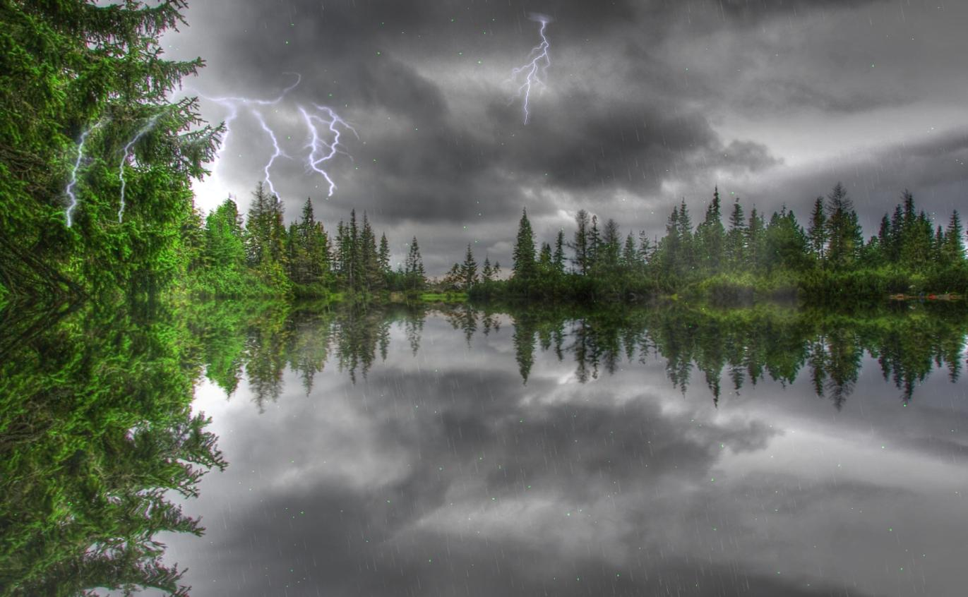 Download Now Amazing Thunderstorm Animated Wallpaper 1371x846