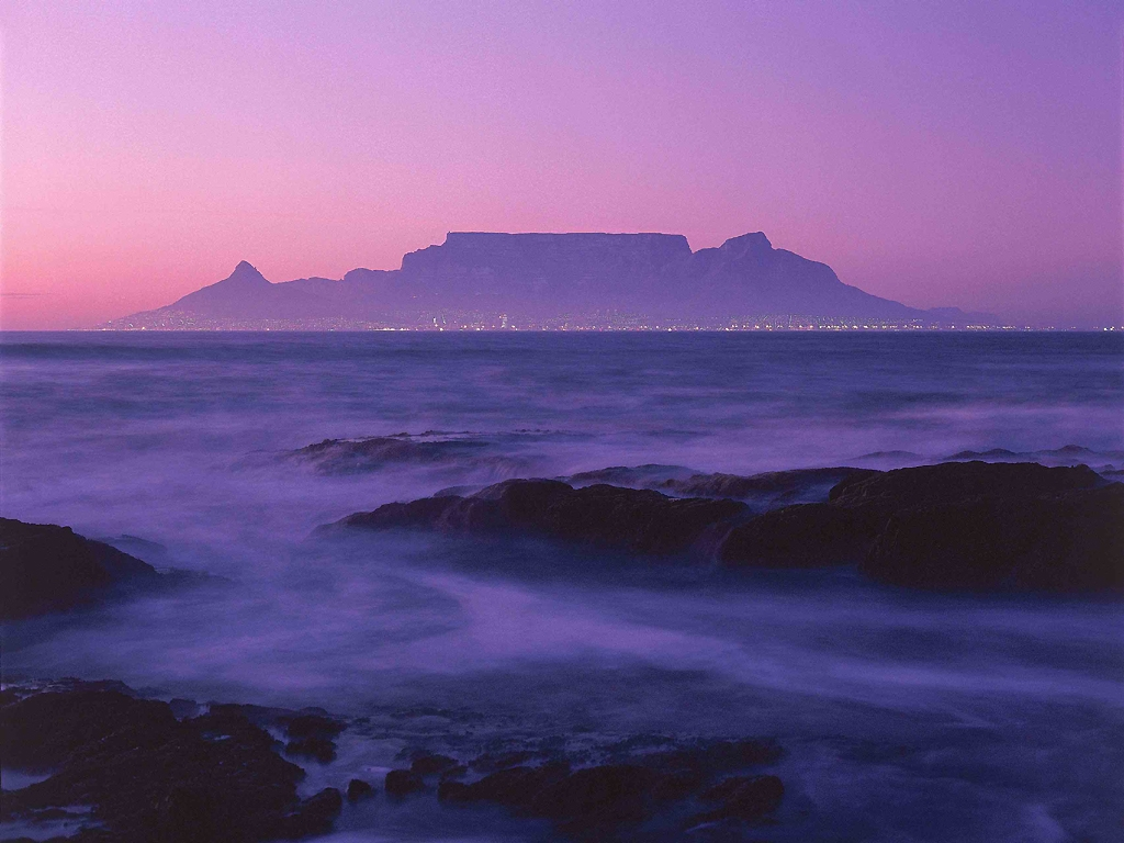 Table Mountain From Boat 1024x768
