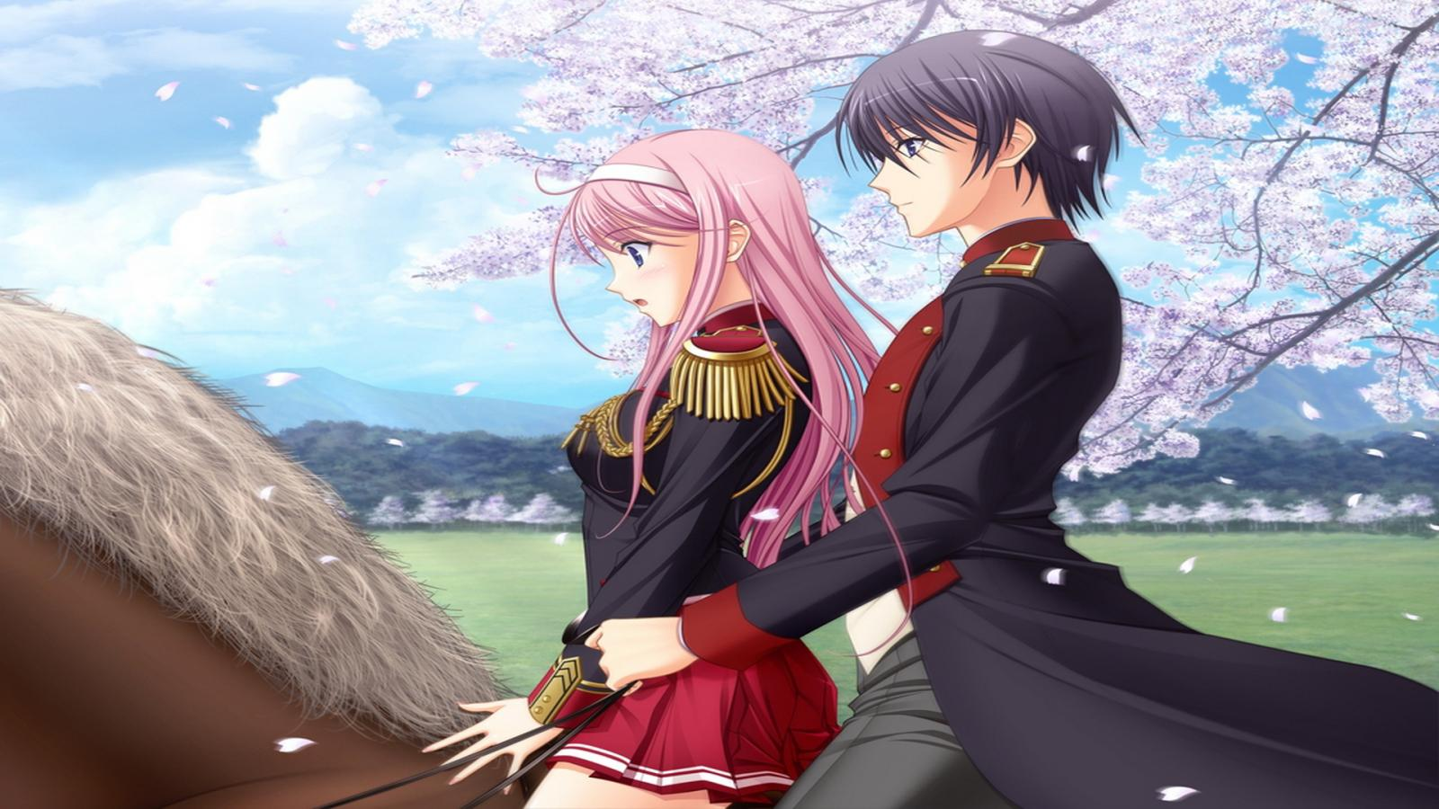 Anime Boy And Girl In Love Wallpaper : Wallpaper Anime Love - WallpaperSafari