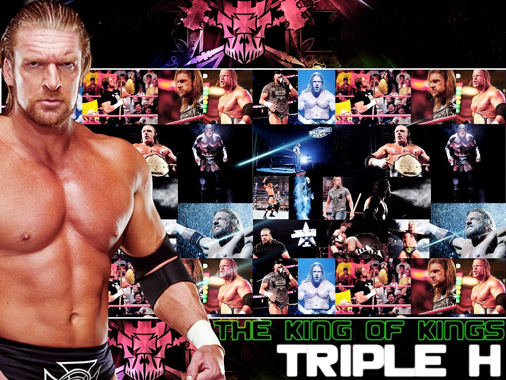 Triple H The King Of Kings Wallpaper   Triple H Wallpaper 1024x768