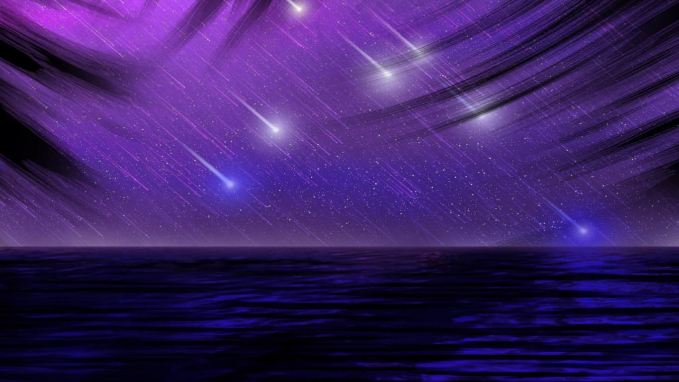 Wallpapers For Shooting Star Iphone Wallpaper 1366x768