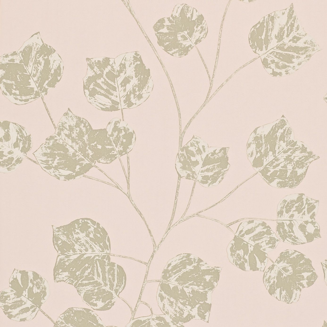 Blush Pink And Gold Wallpaper
