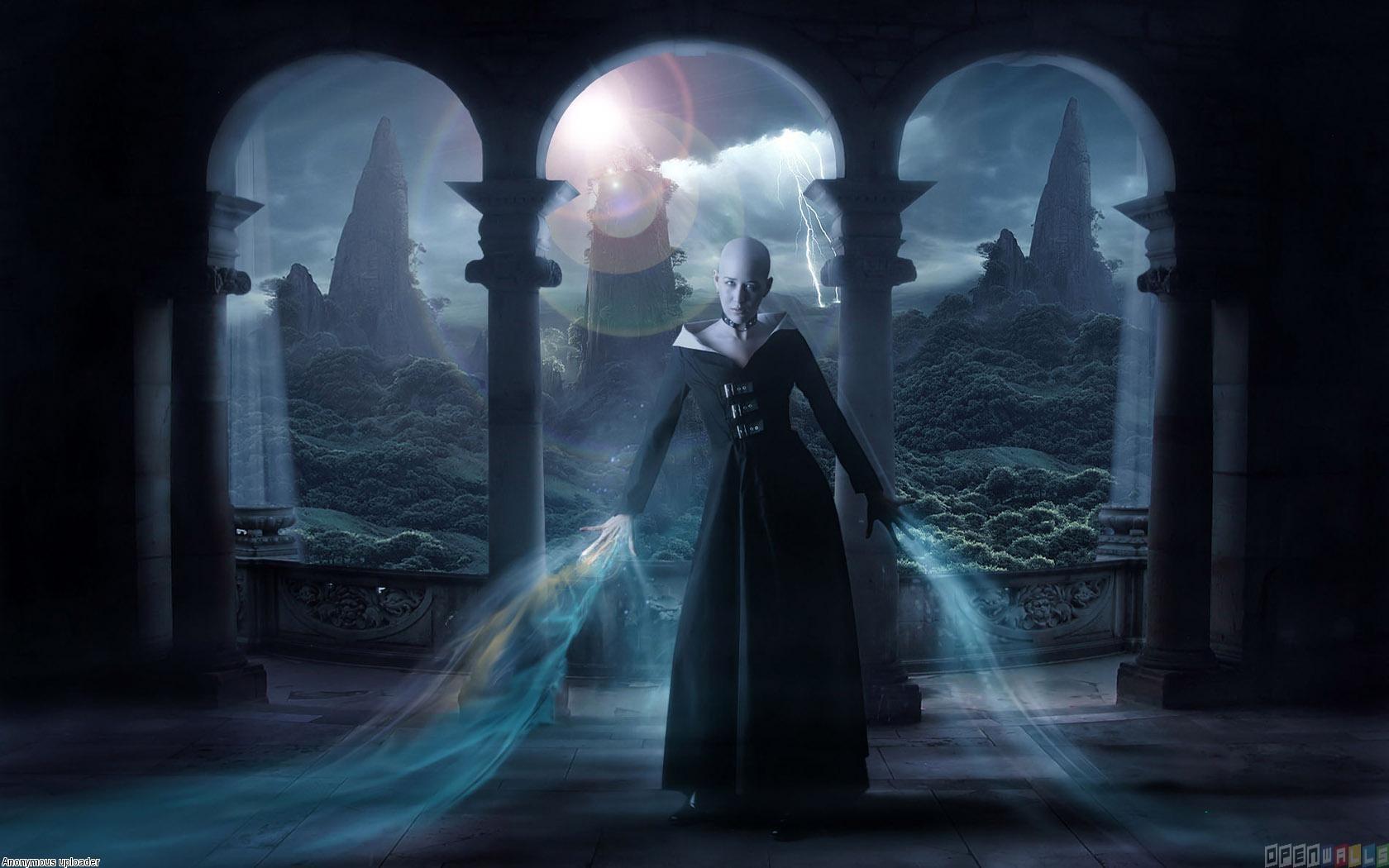 Evil witch wallpaper 12078   Open Walls 1680x1050
