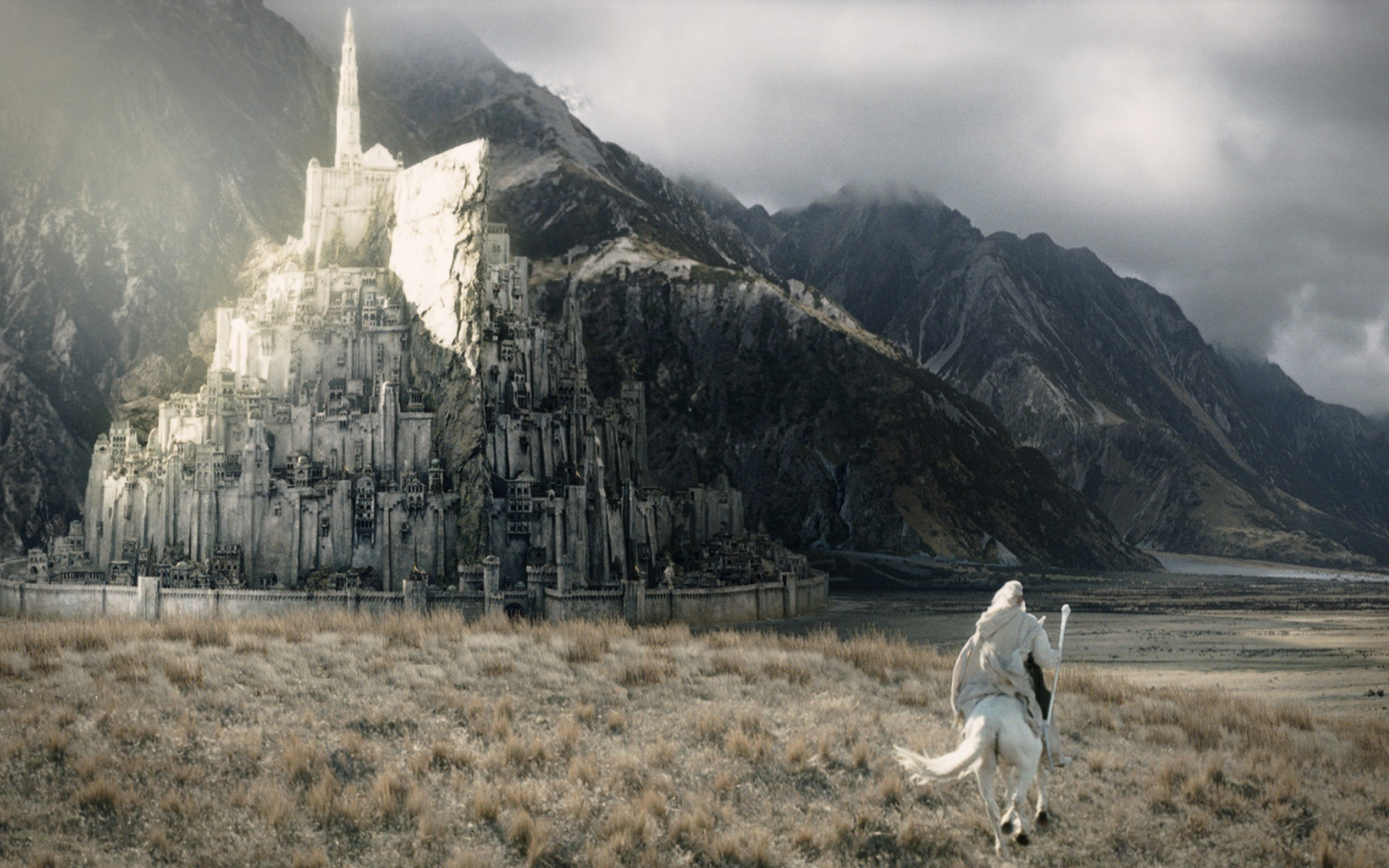72 Minas Tirith Wallpaper On Wallpapersafari