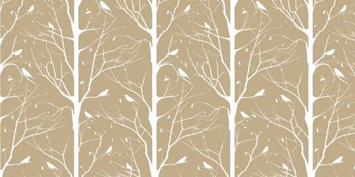 Beige and white wallpaper wallpapersafari for Modern wallpaper designs