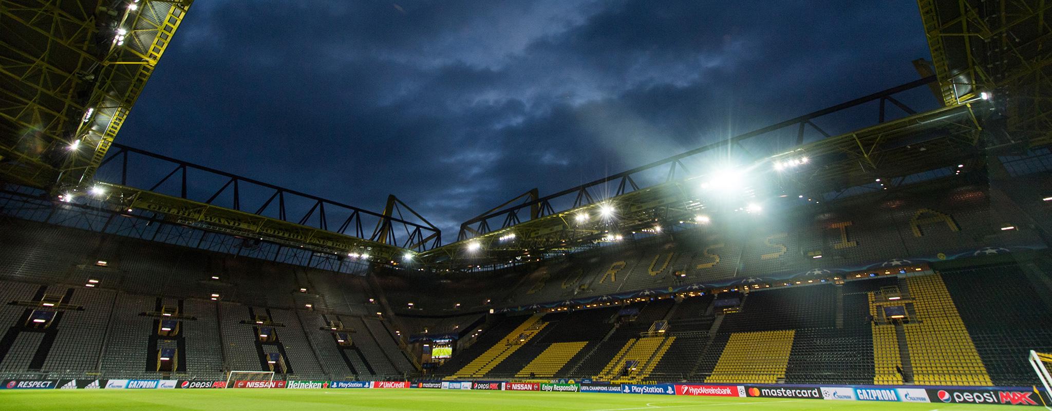 Dortmund v Atalanta background   EU Prime Time Football 2048x800