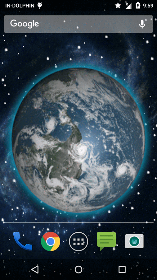 Google Play 3D Moving Earth Live Wallpaper 506x900