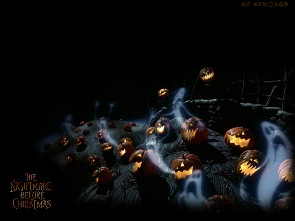 Free Download Nightmare Before Christmas Wallpaper Tim Burton