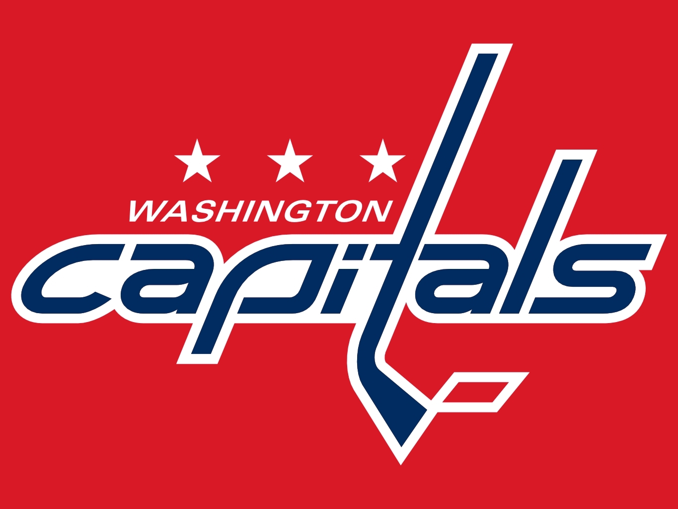 Washington Capitals NHL Hockey Logos 1365x1024
