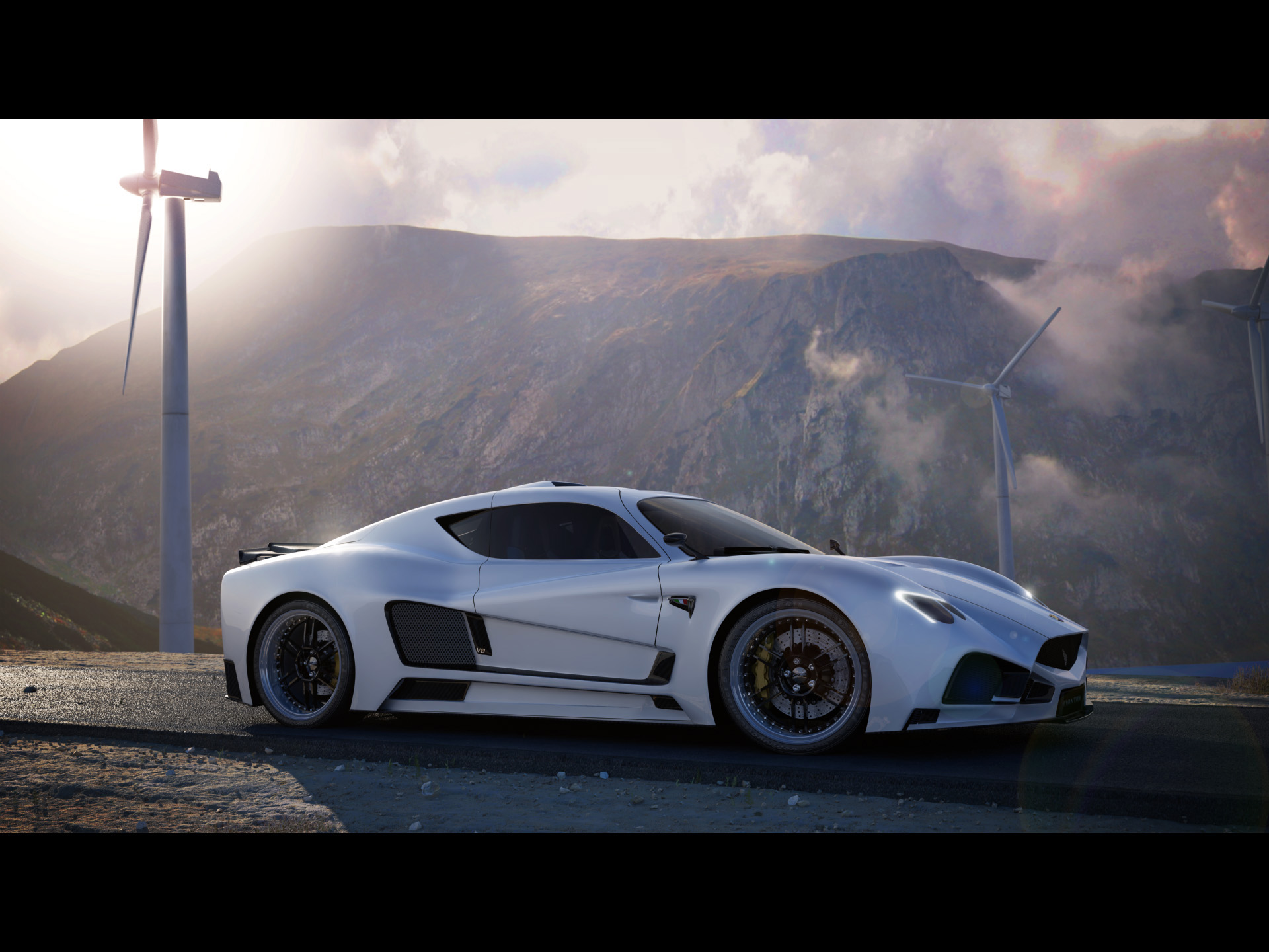 Mazzanti Evantra V8 2012 supercars exotic wallpaper 1920x1440 1920x1440