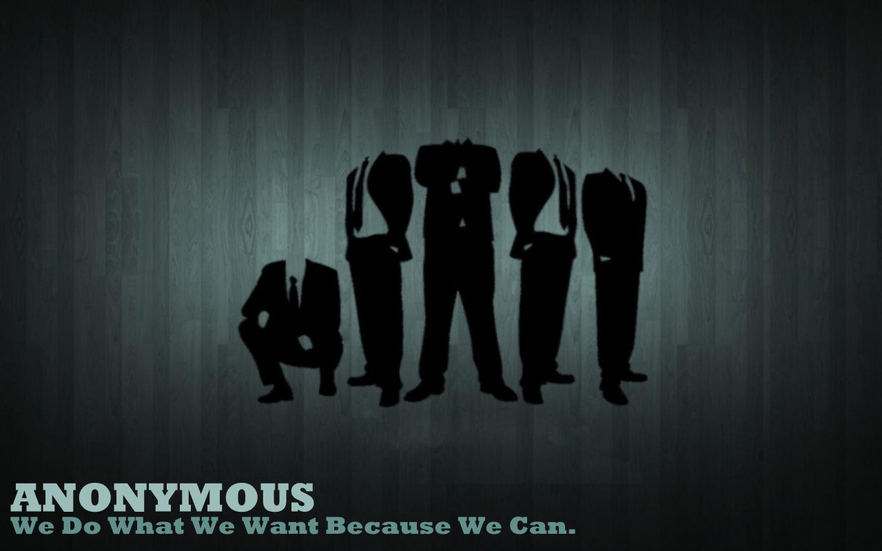 Anonymous Computer Wallpapers Desktop Backgrounds 1280x800 ID 1280x800