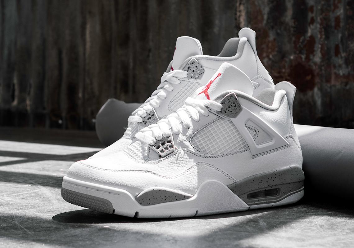 Air Jordan 4 White Oreo CT8527 100 Store List SneakerNewscom 1140x800