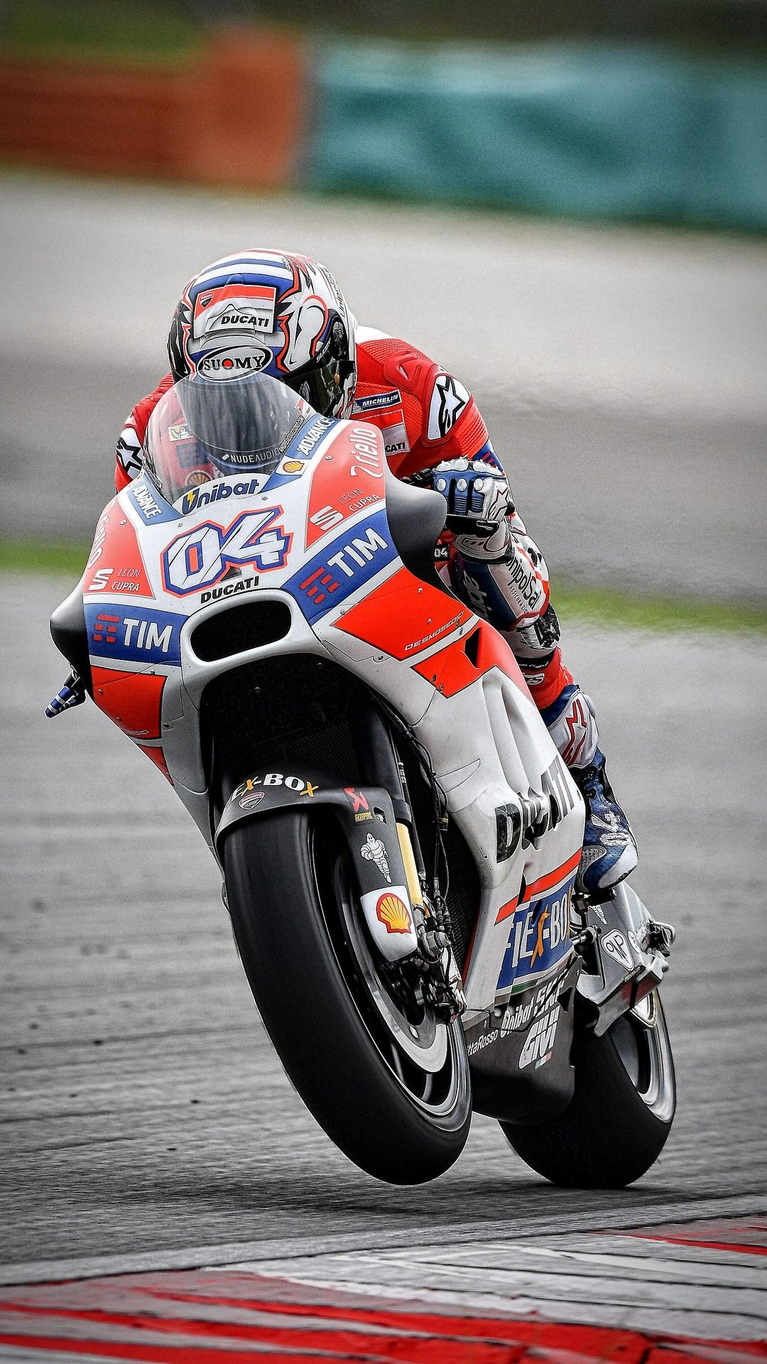 Andrea Dovizioso Ducati iPhone Wallpaper Motogp Ducati Racing 1080x1920