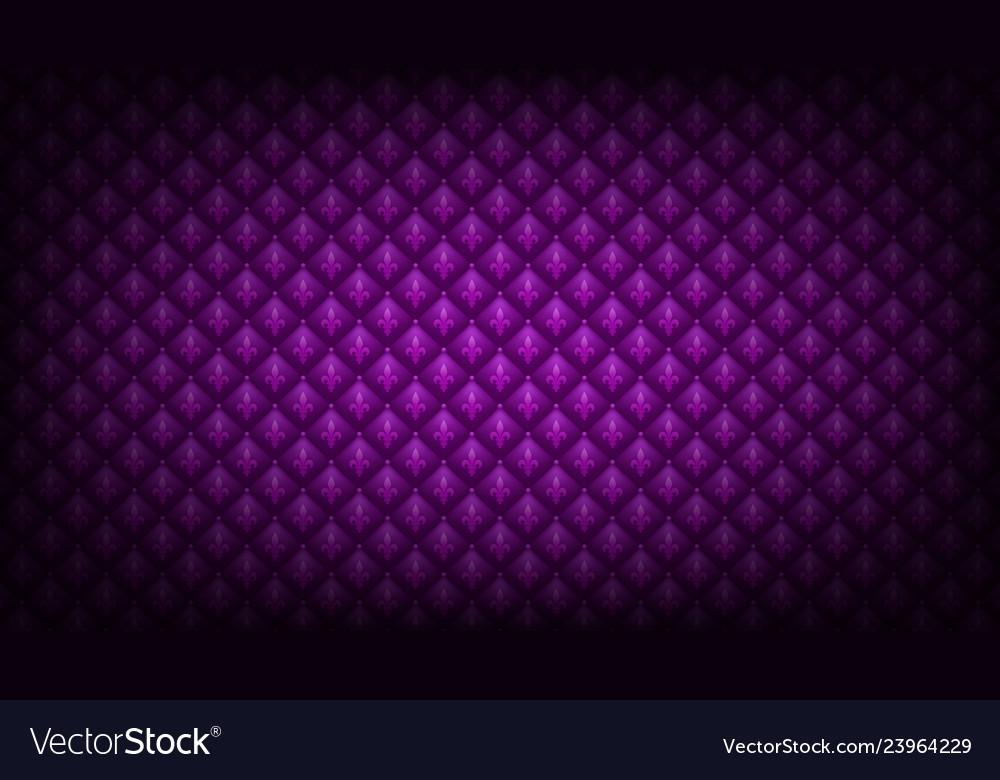 Purple mardi gras background Royalty Vector Image 1000x780