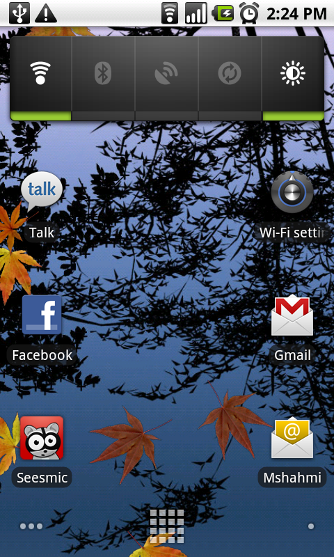 has live wallpaper for example water live wallpaper as below 480x800