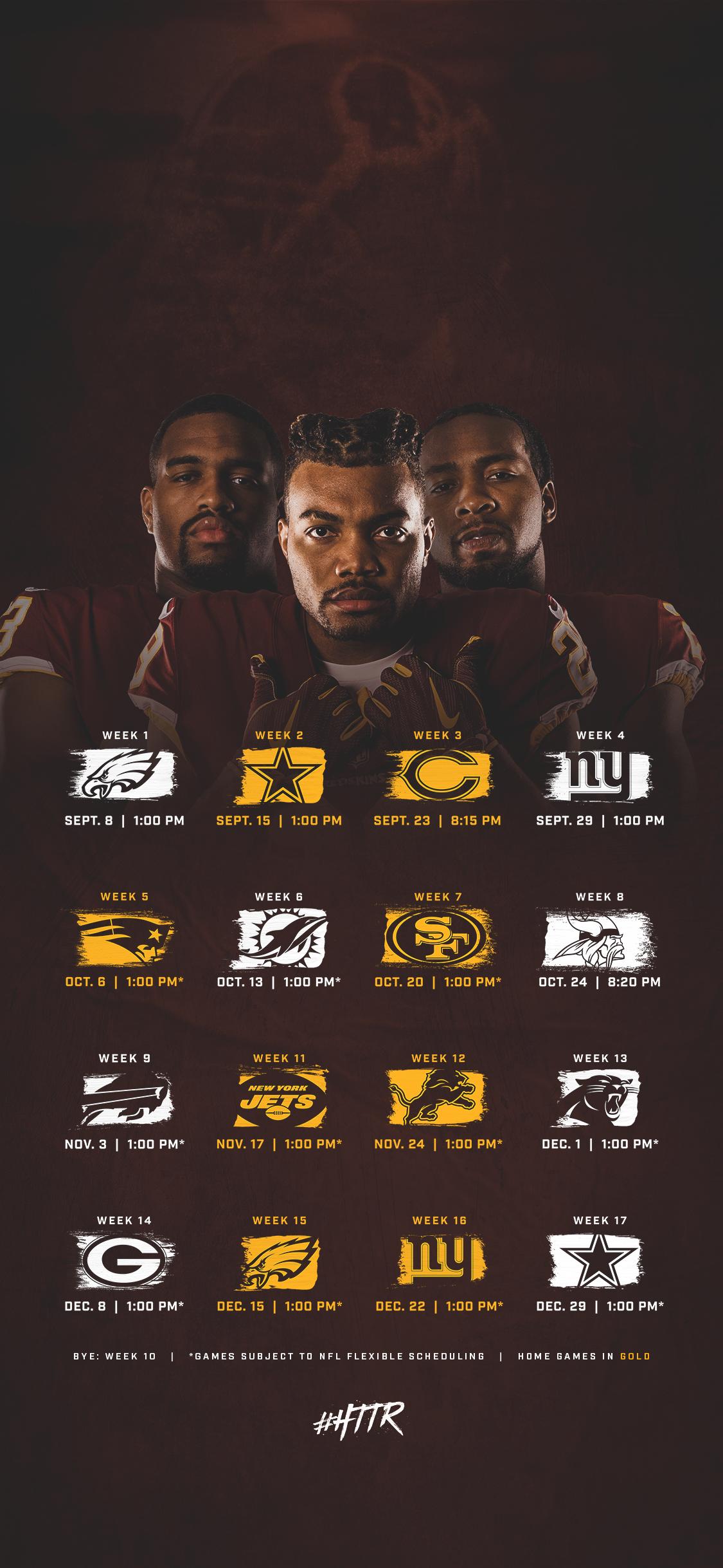 download Redskins Fan Zone Washington Redskins Redskinscom 1125x2436