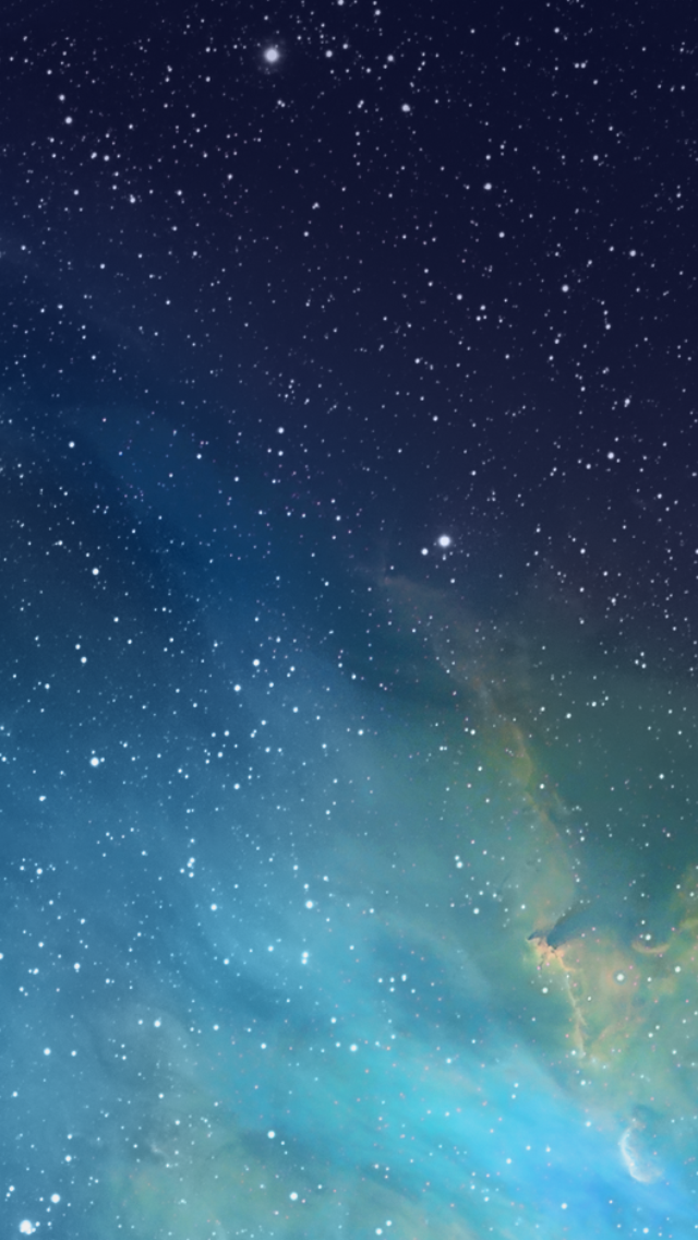 Download new iOS 7 Wallpapers for your iPhone 5 640x1136