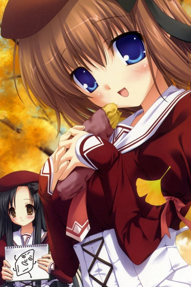 Anime Girl iPhone HD Wallpaper iPhone HD Wallpaper download iPhone 640x960