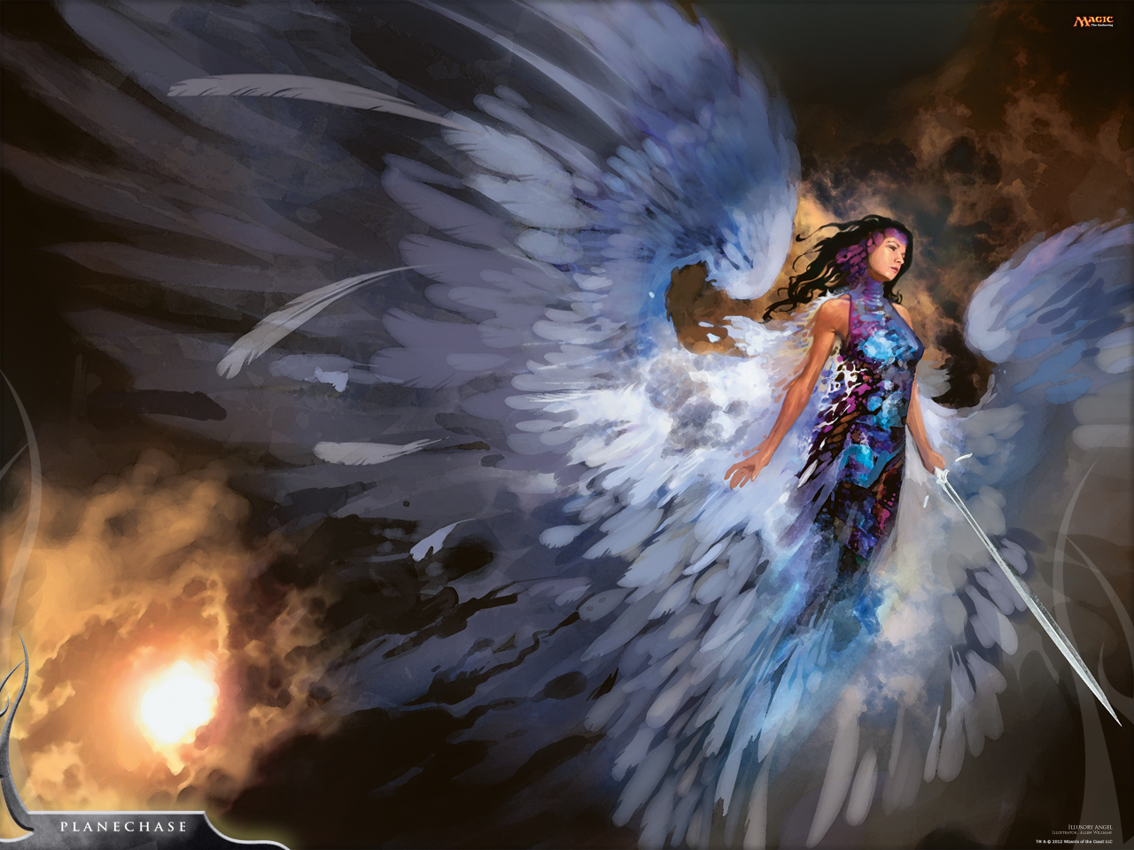 his weeks wallpaper features Allen Williamss Illusory Angel from 1280x960