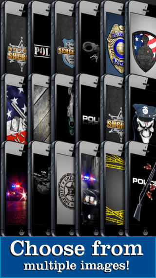 police theme wallpaper