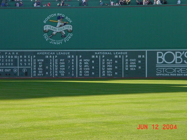 Fenway Park   Red Sox The Green Monster Miscellaneous Pinterest 640x480