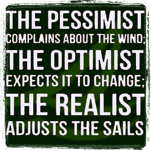 Pessimistic Optimistic Realistic Quotes 500x500